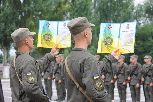 В Запорожье молодое пополнение Национальной гвардии присягнуло на верность Украине, – ФОТОРЕПОРТАЖ
