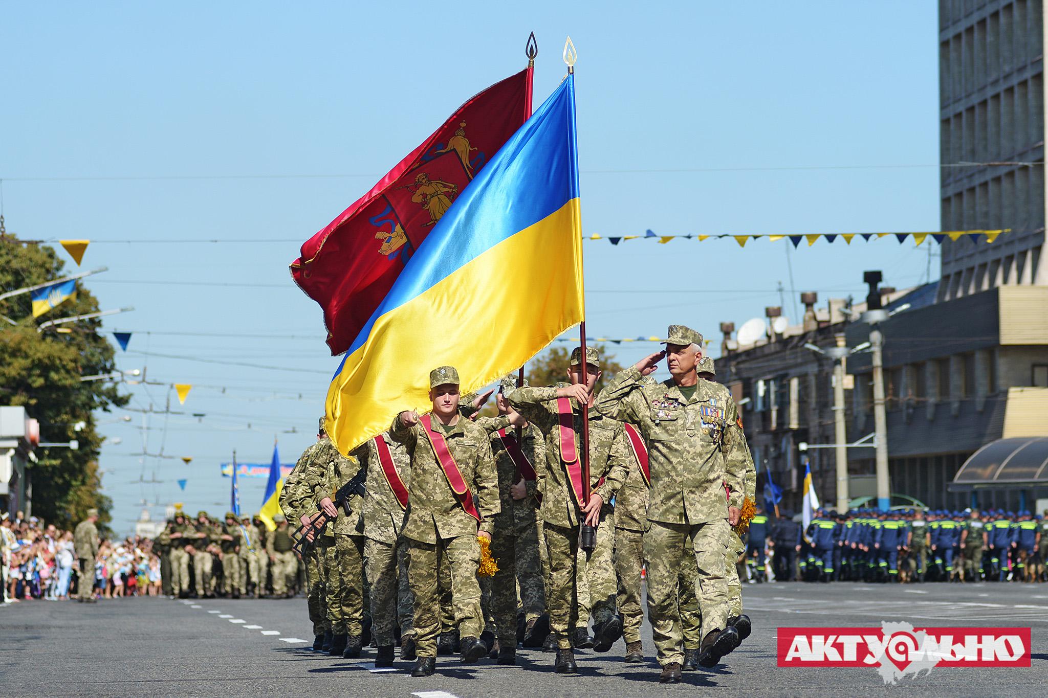 Как в Запорожье празднуют День независимости: по традиции прошёл военный парад (ФОТОРЕПОРТАЖ, часть 2)