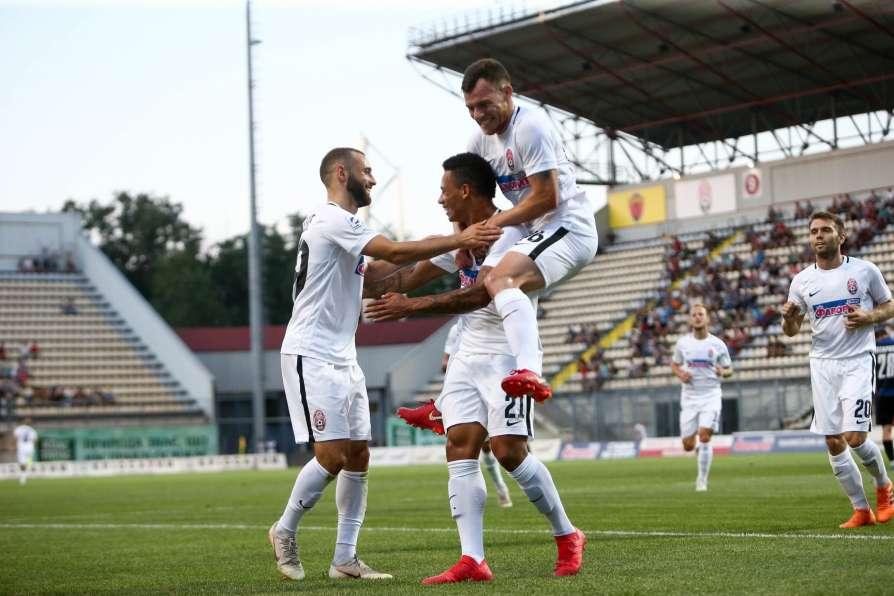 Матч Лиги Европы в Запорожье «Заря»-«Брага» закончился боевой ничьей: долгожданный гол забил Александр Караваев