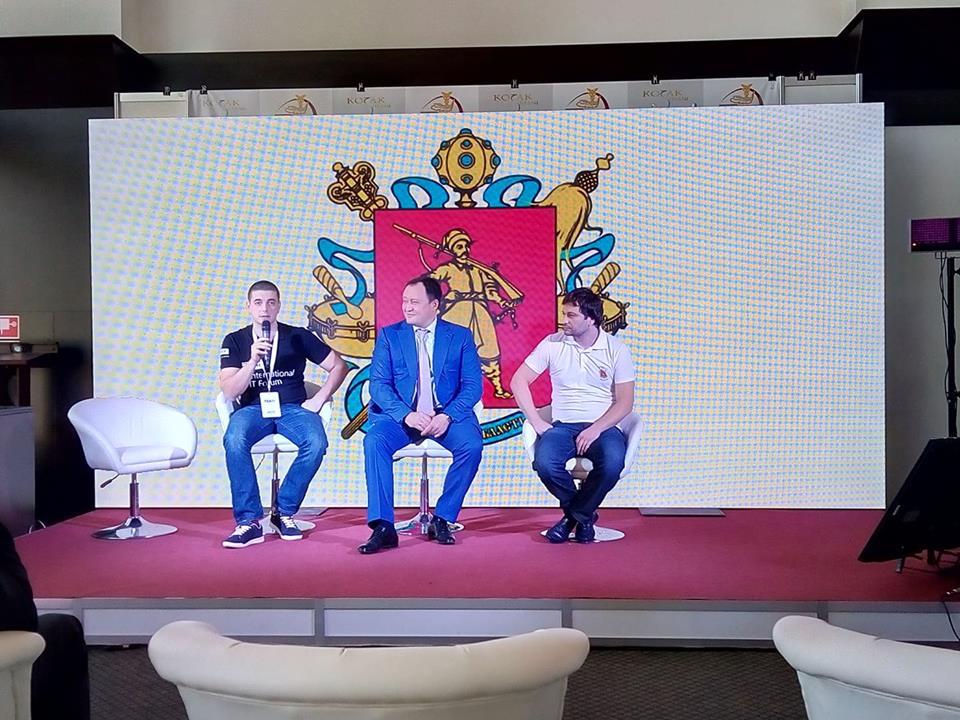 Артур Гарслян: «Межуднародный IT-форум в Запорожье — только первый шаг к созданию IT-города» (ВИДЕО)