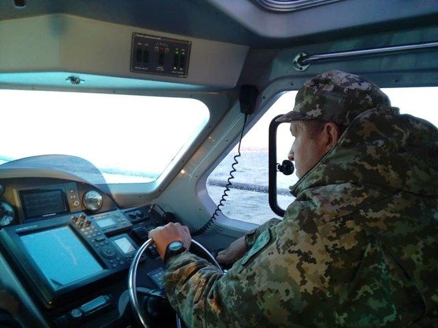 У берегов Запорожской области стартовали военные учения (ФОТО)