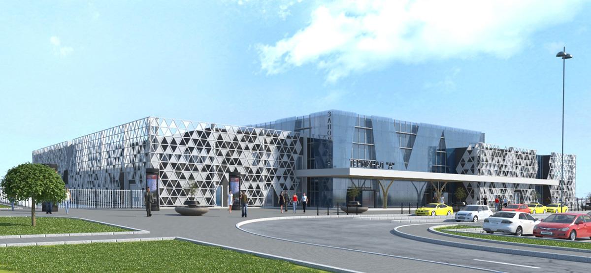Будівництво року: як у Запоріжжі зводять новий термінал комунального аеропорту