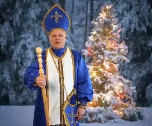 Нардеп и ректор ЗНУ оригинально поздравил запорожцев с Днем святого Николая (Видео)
