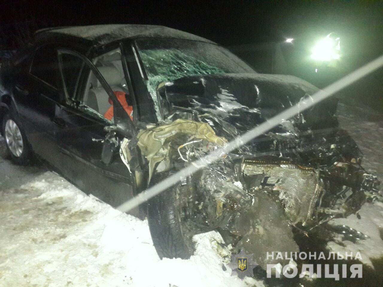 Появились подробности о ДТП в Запорожской области, в котором погиб пассажир и пострадали дети (Фото)