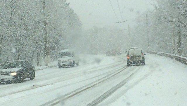 В Запорожье за сутки из снежных заносов спасли двух человек