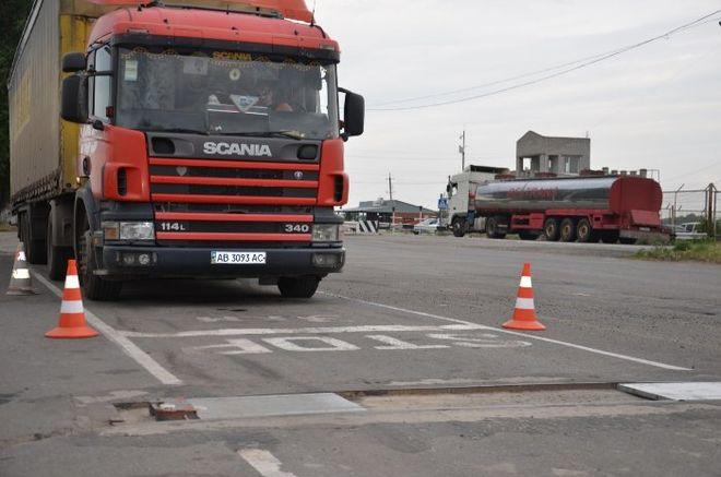 Через пару недель на автодороге «Днепр-Запорожье» откроется третья площадка для габаритно-весового контроля транспортных средств (Видео)