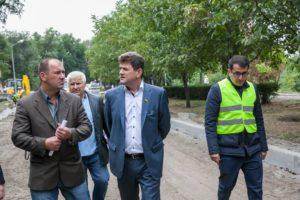 Завершение  реконструкции проспекта Маяковского произойдет в 2018 году