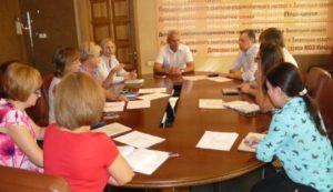 Результат работы депутатского корпуса и специалистов по передвижной лаборатории мониторинга окружающей среды