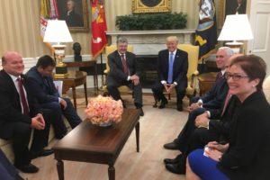 Порошенко и Трамп подробно обсудили экономическое сотрудничество