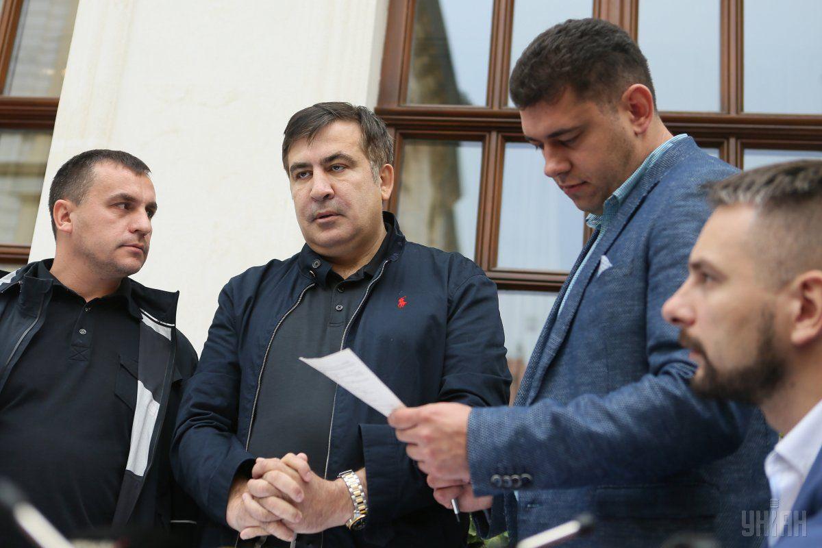 Саакашвили оштрафовали за незаконное пересечение госграницы