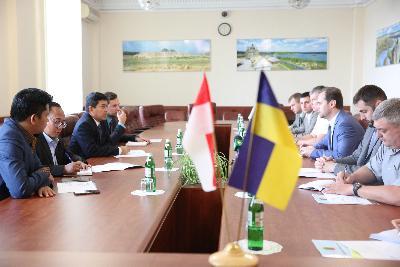 Запорожье с официальным визитом посетила делегация Посольства Республики Индонезия в Украине