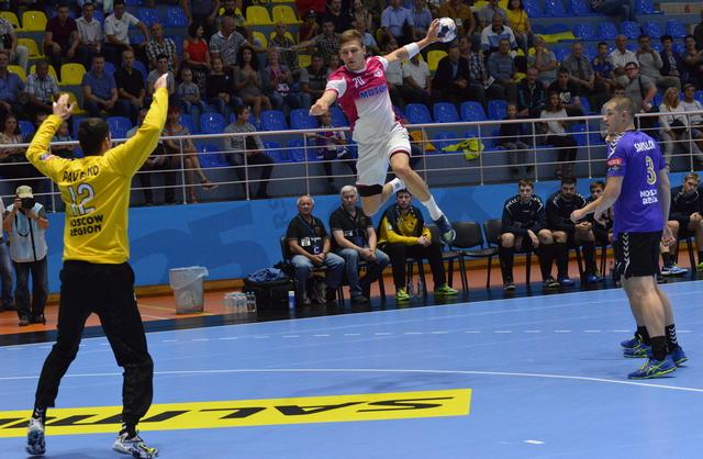 Запорожский «Мотор» стартовал в групповом этапе гандбольной Лиге