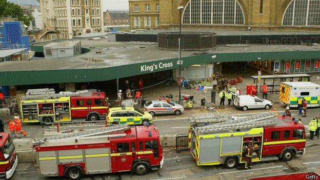 В Лондонском метро при взрыве пострадали люди