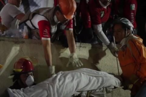 Количество жертв землетрясения в Мексике достигло 237 человек