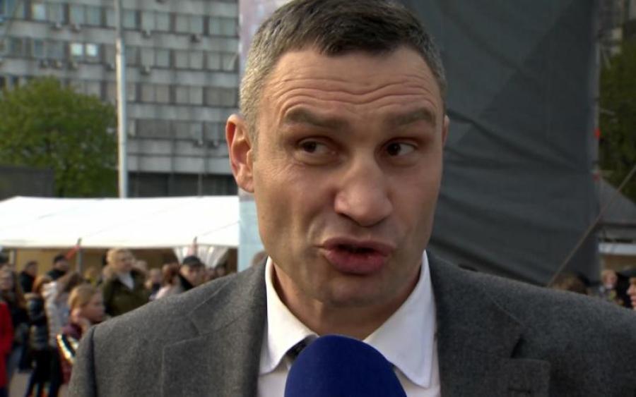 Журналистам «Радио Свобода» удалось пообщаться с пьяным Кличко