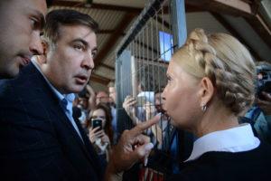 Полиция и пограничники прибыли в отель «Леополис» для задержания Саакашвили