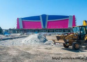 Реконструкция  дворца спорта «Юность»
