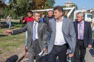 Владимир Буряк: «У парка Трудовой Славы должен появиться настоящий хозяин»