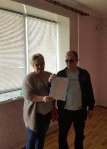 Юрий Луценко за свой счет купил квартиру для ветерана АТО