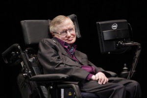 Стивен Хокинг выступил на форуме YES в Киеве