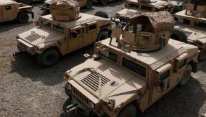 США предоставят новейшие военные автомобили Украине