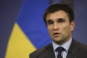 Климкин: Шизофреническое предложение России по миротворцам способствует замораживанию конфликта