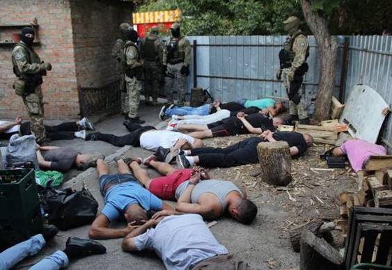 Задержаны 27 участников криминальной «сходки» в Кропивницком