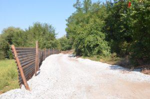 Как в Запорожье продвигается строительство нового парка
