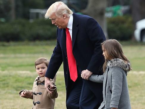Трамп в девятый раз стал дедом