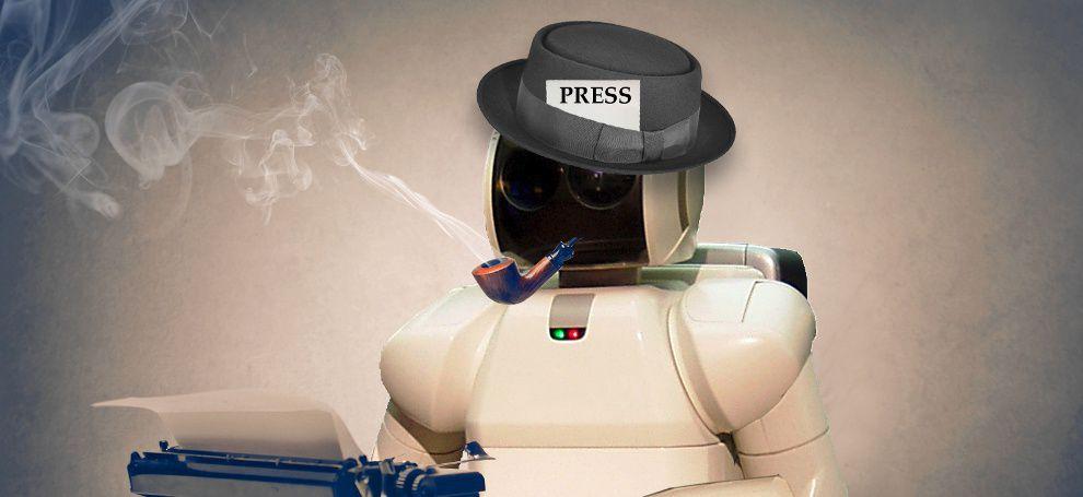 Журналистов смогут заменить роботы – будущее профессии