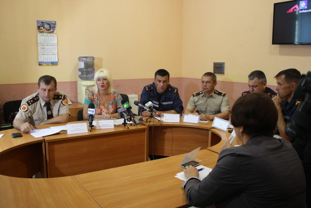 Спасатели и представители ЧАО «Запорожгаз» обсудили вопросы подготовки к отопительному сезону