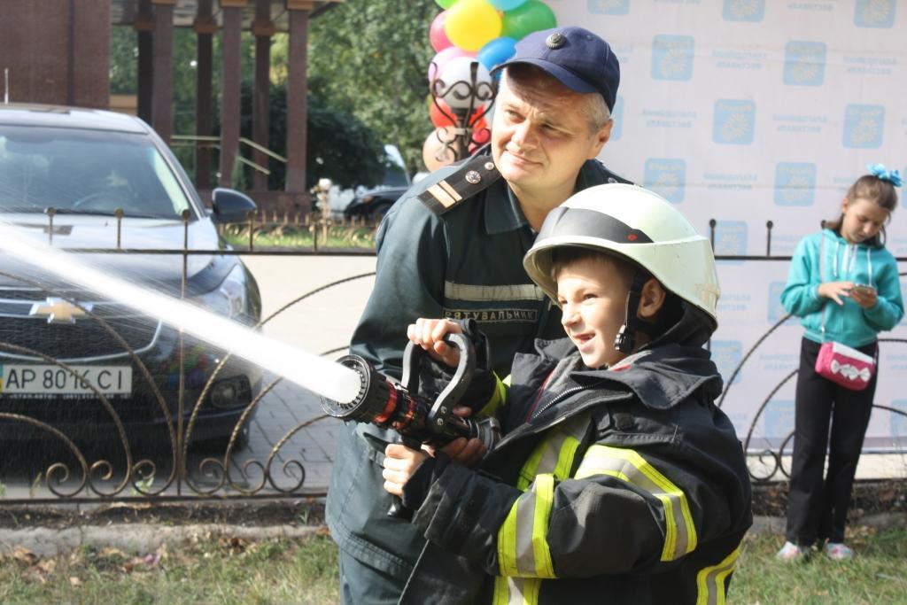 Запорожские спасатели участвовали в благотворительном фестивале