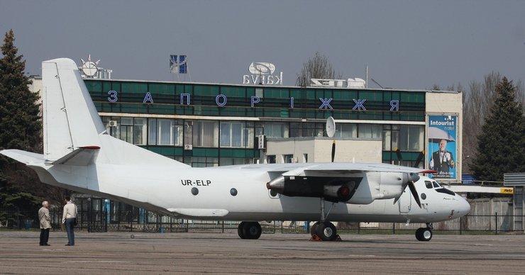 Реакция городской власти на ограничения полетов в запорожском аэропорту