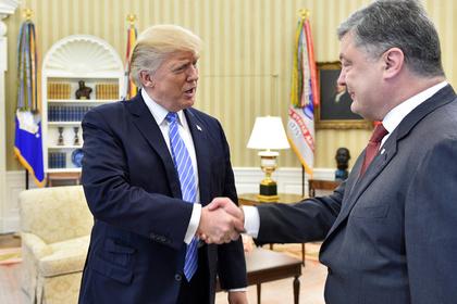 В Белом доме раскрыли детали встречи Трампа и Порошенко