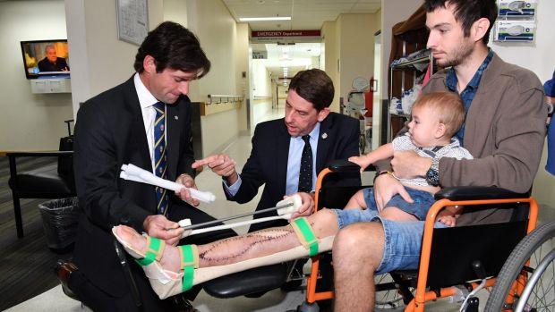 Пациенту имплантировали напечатанную на 3D-принтере берцовую кость