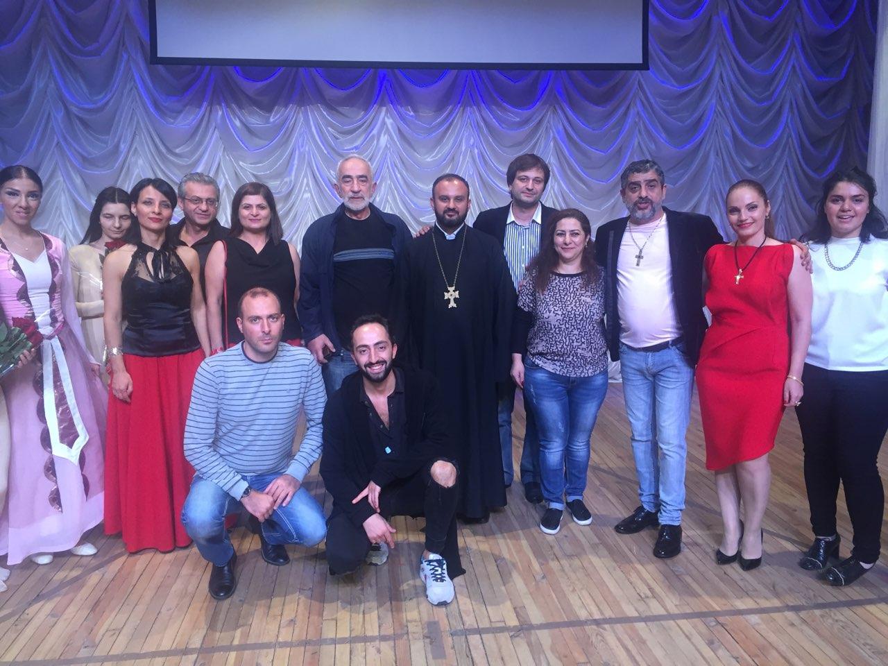 В Запорожье прошел концерт ко Дню Независимости Армении