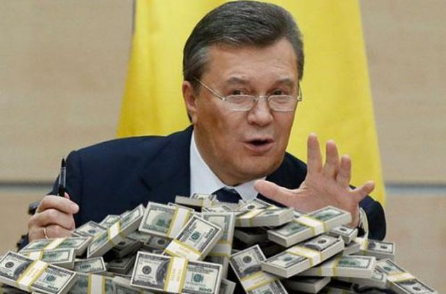 Ощадбанк должен сообщить, сколько денег у Януковича на счетах