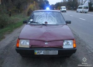 В результате ДТП в Запорожье погиб пешеход