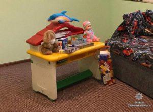 В отделениях запорожской полиции появились детские уголки