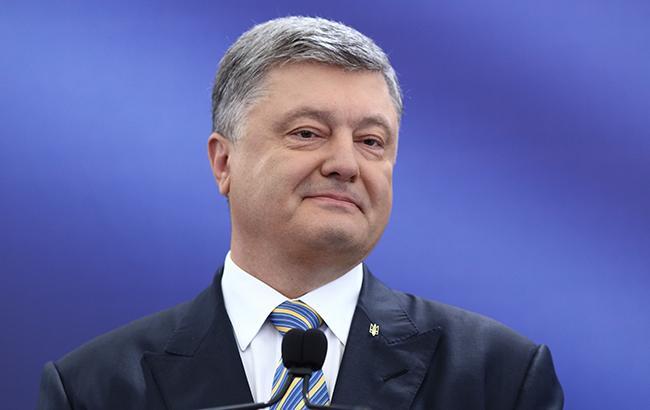 Порошенко внес в Раду законопроект о восстановлении суверенитета над Донбассом