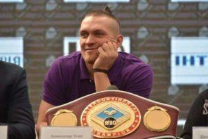Усик намерен боксировать с обидчиком Кличко