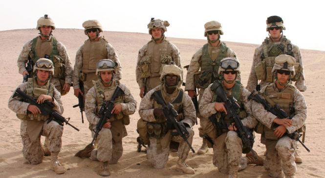 Под Киевом пройдут тренировки морских пехотинцев США