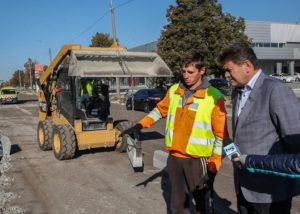 На какой стадии ремонт дороги на Набережной магистрали