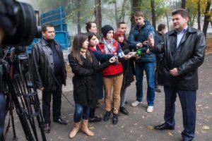«Реконструкция улицы Южноукраинской – лишь часть работ по благоустройству парка Трудовой Славы»
