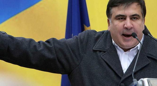 Саакашвили: Пока есть Порошенко — будет нищета