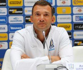 Шевченко: Я хочу остаться работать со сборной Украины