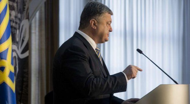 Порошенко: Война на Донбассе завершится не скоро