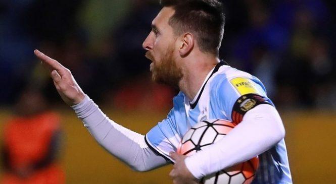 Хет-трик Месси выводит Аргентину на ЧМ-2018