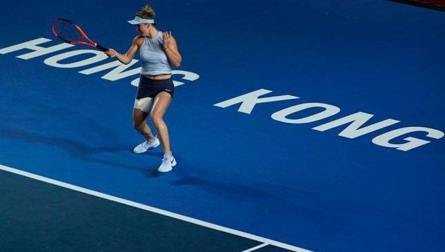 Свитолина покидает турнир в Гонконге из-за травмы