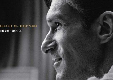 Хефнер посмертно украсил обложку Playboy